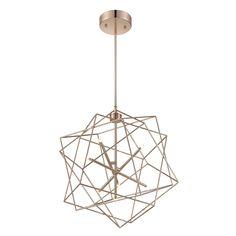 Stacia LED French Gold Seven Light Pendant Lite Source Globe Pendant Lighting Ceiling Ligh