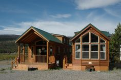 Park homes are an attractive way to do simple living! www.popeslanding.com
