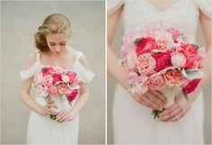 Pink rose bouquet #pink