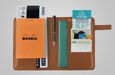 Leather Passport Holder by PEGA CASA | MONOQI
