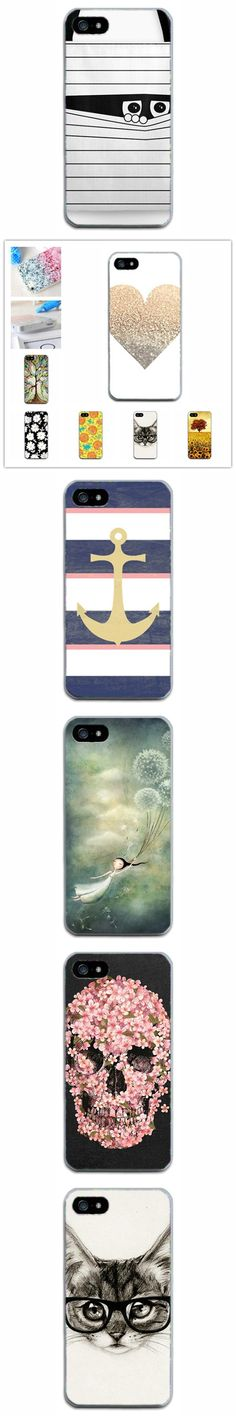 For Iphone5 5s cases Painted Soft TPU Phone Case Back Cover Coque For iPhone 5 5S SE thin mobile phone bags cases