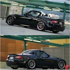 If mine was black it would get chrome too. Mx5 Nc, Mazda Roadster, Mazda Miata, Japanese Cars, Bmw Cars, Sport Cars, Peugeot, Dream Cars, Zoom Zoom