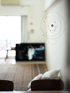 Niels Bohr Atom Model Mobile FLENSTED MOBILES | scope