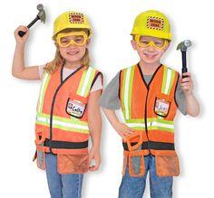 Melissa and Doug bouwvakker kostuum