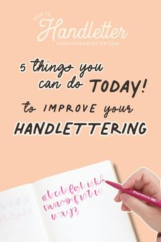Here are 5 tips to help you take your handlettering & modern calligraphy to the next level! Created by Suzy Grace of How to Handletter #handletteringtips #handlettering #calligraphytips Calligraphy For Beginners, Calligraphy Tutorial, Lettering Tutorial, Lettering Styles, Brush Lettering, Hand Lettering, Printable Letters, Printable Worksheets, Handwritten Letters