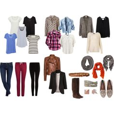 Everyday Wardrobe Essentials- I'm lacking in the tops category!