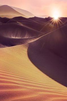 sundxwn: The Golden Way by Hamad al-failakawi Light on reclining dune. Desert Dunes, Places Around The World, Around The Worlds, Beautiful World, Beautiful Places, Wow Photo, Desert Dream, Natural Wonders, Amazing Nature
