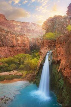 Havasu Falls, Grand Canyon (Hidden World Wonders)
