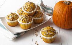 Muffin alla zucca con cuore di gorgonzola ricetta #piknik