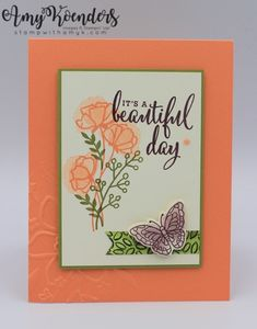 I used the Stampin' Up! Love What You Do stamp set to create a quick card to share with you today. Stampin' Up! will be offering this stamp set bundled with other products from the sui…