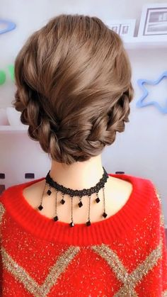 Hairdo For Long Hair, Bun Hairstyles For Long Hair, Bride Hairstyles, Cute Hairstyles, Hairstyle Braid, School Hairstyles, Beautiful Hairstyles, Party Hairstyles, Latest Hairstyles