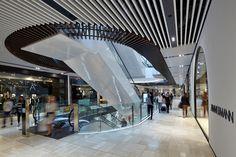 Emporium Shopping Centre Melbourne | Travertine Tiles | High Traffic | Shopping | Signorino Tile Gallery