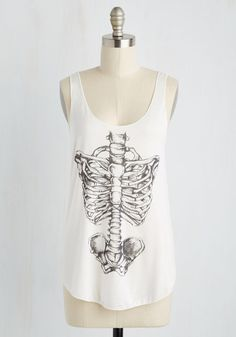 Feeling Spine Tank Top, #ModCloth