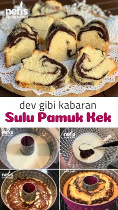 Dev Gibi Kabaran Sulu Pamuk Kek - Nefis Yemek Tarifleri How to make a Giant Fluffy Juicy Cotton Cake Recipe? Illustrated explanation of this recipe in the person book and photos of those who try it are here. Yummy Recipes, Best Cake Recipes, Yummy Food, Beef Pies, Mince Pies, Green Curry Chicken, Red Wine Gravy, Onion Pie, Cotton Cake