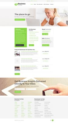 Business for Sell Website Template