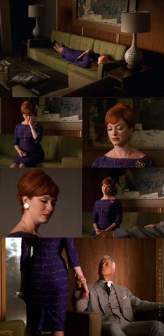 A Stitching Odyssey: Mad Men style files - Joan Harris (nee Holloway) Joan Mad Men, Mad Women, Mad Men Joan Holloway, Joan Harris, Mad Men Fashion, Fashion Ideas, Men Tv, Six Month, Art
