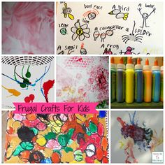 Recycle items and have kids use them to make masterpieces!    http://mamato5blessings.com/2014/01/frugal-crafts-for-kids-round-up/