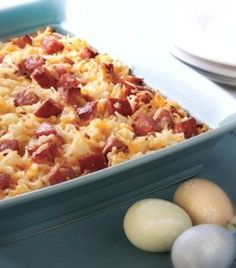 Cheesey Potatoes with Smoked Sausage