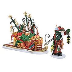 "Department 56: Products - ""Father Christmas's Journey"" - View Accessories"