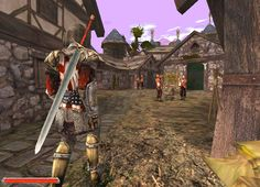 *IM* witamy w Khorinis World of Gothic - Gothic II Gothic Games, Portal, Medieval Fantasy, Best Graphics, Fantasy World, Skyrim, Holland, Weapons, Fair Grounds