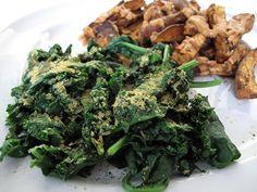 Spirulina Steamed Greens