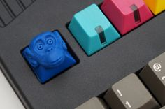 HoffmanMyster's Keyboard & Keycap Collection / Booper monkey