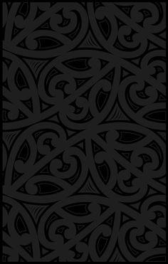Maori pattern Throw Pillow by Faju - Cover x with pillow insert - Indoor Pillow New Wallpaper, Pattern Wallpaper, Wallpaper Backgrounds, Iphone Wallpaper, Wallpapers, Background Templates, Art Background, Pattern Art, Pattern Design