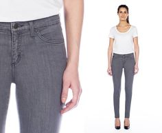 SHADOW - high rise skinny   Yoga Jeans