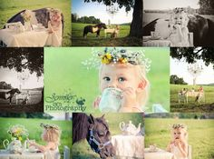 Jennifer Tara Photography  Country girl photo shoot tea party with her horse