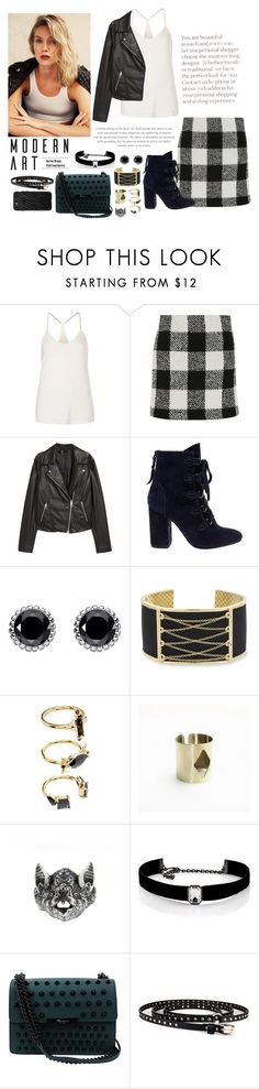 """""""Untitled #1658"""" by style-and-chic-boutique ❤ liked on Polyvore featuring Goldie, George, H&M, Splendid, Thomas Sabo, Laundry by Shelli Segal, Noir Jewelry, Kenneth Jay Lane, Foley + Corinna and Casetify"""