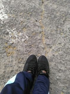 My foot
