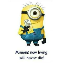 Minions now living will never die! Minions 1, Minions Love, My Minion, Minions Quotes, Bible Humor, Jw Humor, Jehovah's Witnesses Humor, Jw Jokes, Best Quotes