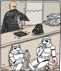 Boadica - Humor - Que maldade com o Darth Vader!