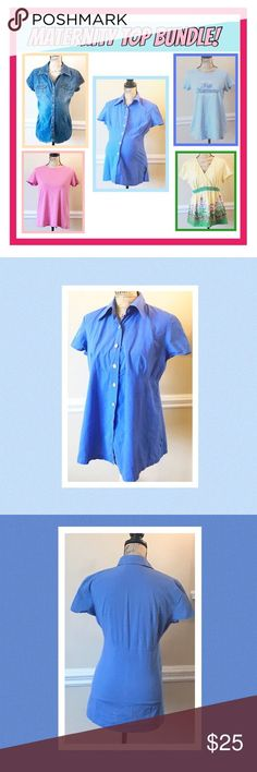 0aef3011ae203 MATERNITY TOP BUNDLE GUC in good condition, perfect for the pregnancy from  the beginning to
