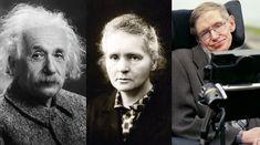 Confira uma lista com declarações motivacionais de pessoas como Albert Einstein, Isaac Newton, Marie Curie e Stephen Hawking
