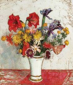 Leon De Smet, A bouquet of flowers (1928)
