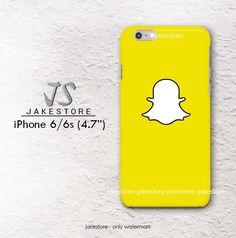 Snapchat logo iPhone Case 4 4s 5 5s 5c 6 6s Plus