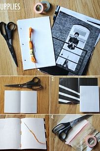 Notebooks / 35 New Uses For Old Newspapers And Magazines (via BuzzFeed)