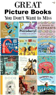 14 New Picture Books
