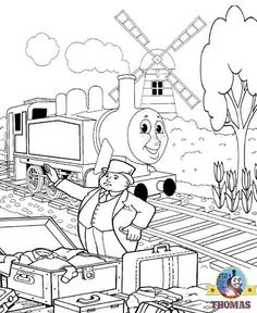 Free Thomas The Train Coloring Pages 003 Jpg
