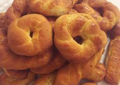 Greek Desserts, Greek Recipes, Desert Recipes, Greek Cookies, Brownie Cookies, Pastry Cake, Ice Cream Recipes, Bagel, Cookie Recipes