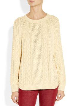 MICHAEL Michael Kors | Cable-knit cotton sweater |