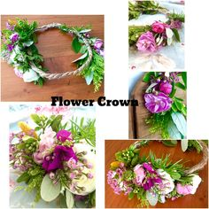 D.D.'s Cottage and Design: Fresh How to make Flower Crowns