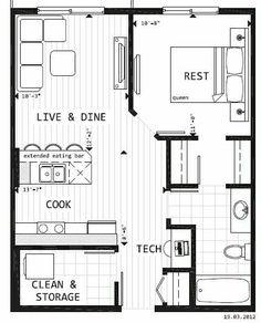 .floor plans-garage conversion