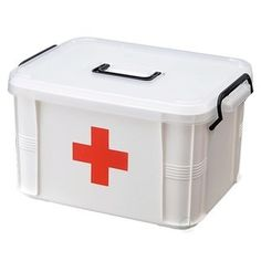 Decor Hut First Aid Kit with Clear Cover, Black Handles Removable Inner Tray 7 Slot Organizer for Band Aid & Creams Sewing and Fishing Kit Supplies Organizer Survival First Aid Kit, Survival Prepping, Emergency Preparedness, Survival Gear, Camping Survival, Survival Skills, Survival Clothing, Emergency Supplies, Camping Gear