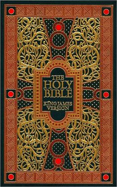 The Holy Bible King James Version Barnes and Noble leatherbound classics