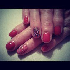 """#Aggy #Agynails #instanails #nailart #nails #polish #marbling #red"""