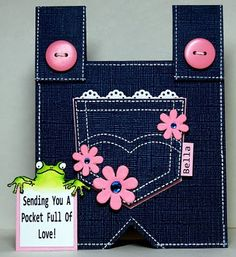Stampin up stamp:Pocket fun stamp.   Kreative Korner By Kelly: A Few Fun Cards