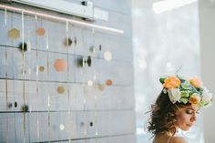 Beautiful rich fall tones, a whole lot of DIY inspiration, and the most beautiful flower crown ever. How are you thinking you want your hair on the big day?