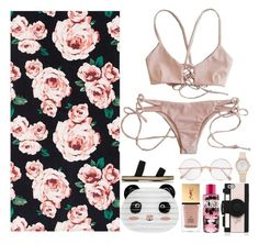 """I'm so dirty babe."" by nihilistic ❤ liked on Polyvore featuring PBteen, Yves Saint Laurent, Maslin & Co., Kate Spade, Sunday Somewhere and polyvoreeditorial"